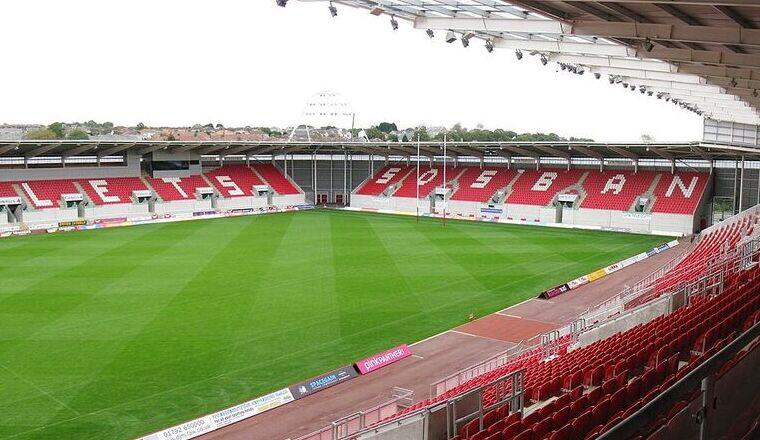 Parc y Scarlets Stadium – Scarlets and Llanelli RFC